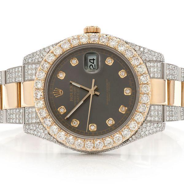 Rolex Datejust 2 12.18ctw 18K