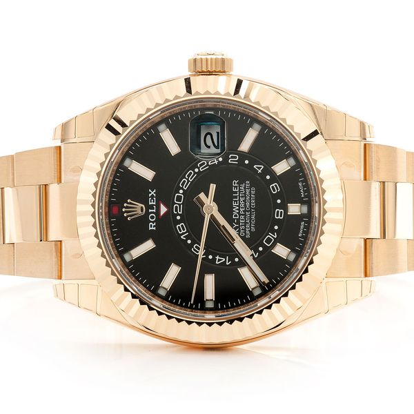 Pre-owned Rolex Sky-Dweller 42MM 18K