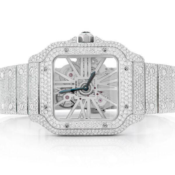 Custom Cartier Watch -  Unisex 19.07ctw