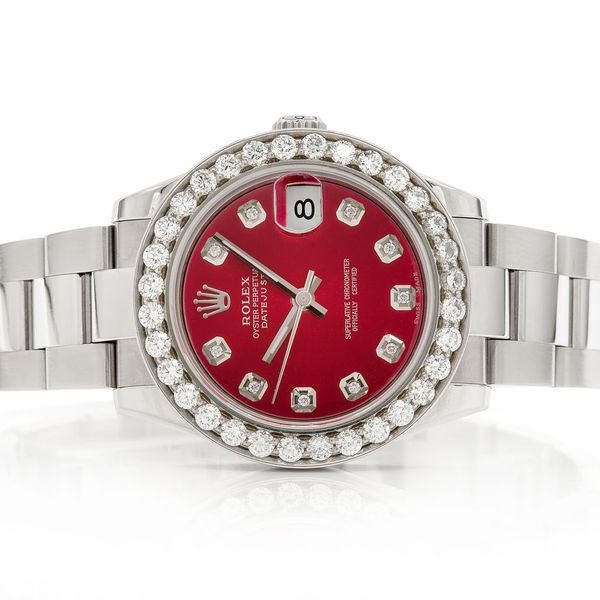 Pre-owned  Datejust 31mm  SS  2.64ctw