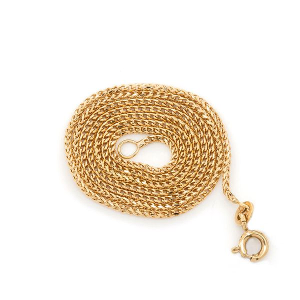 1.5mm Franco 14K   Bracelet