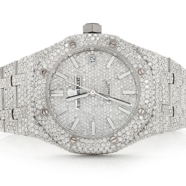 Audemars Piguet Royal Oak St.Steel  ICED OUT