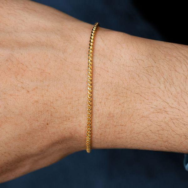 2mm Franco 14K   Bracelet