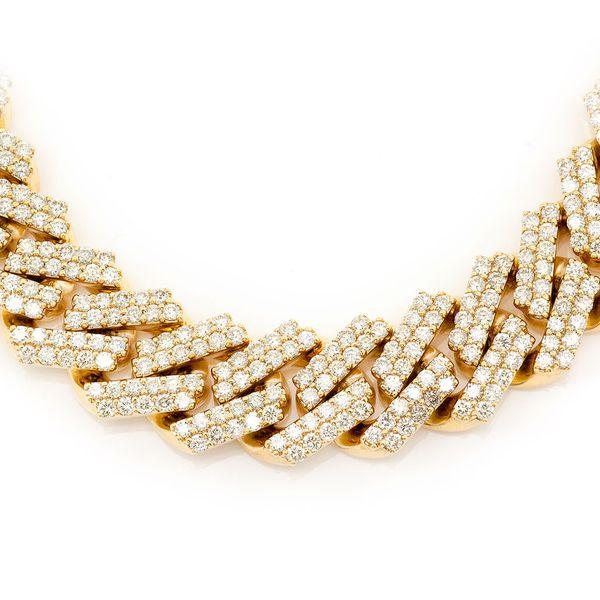Miami Cuban Necklace 14K   39.51ctw