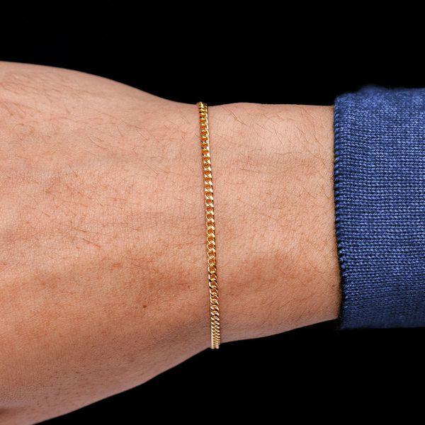 2mm Miami Cuban 14K   Bracelet