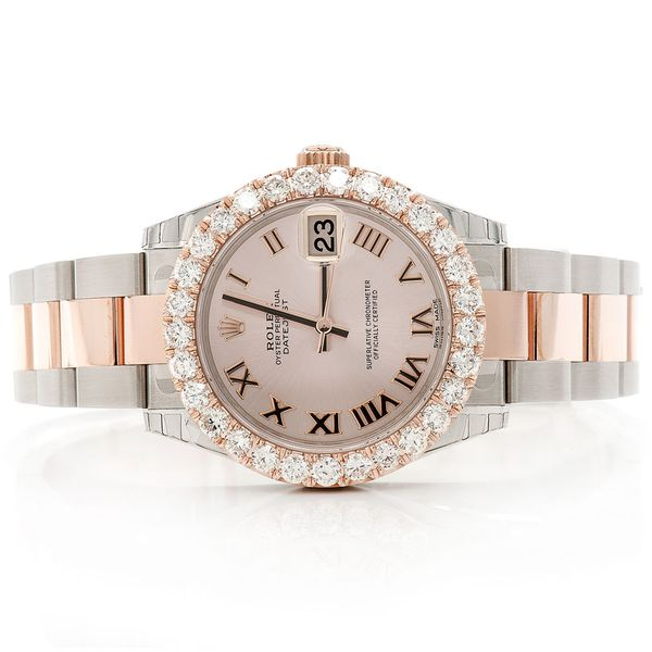 Rolex Datejust 2.87ctw SS