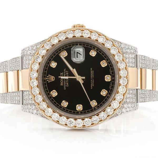 Rolex Datejust 10.56ctw 18K/SS