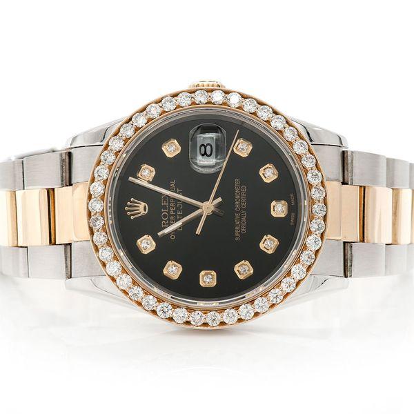 Rolex Datejust 2.16ctw 18K/SS