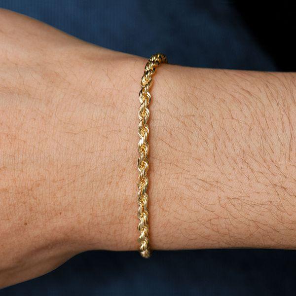 3mm Rope 14K   Bracelet