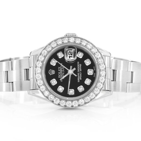 Rolex Datejust Steel  1.23ctw