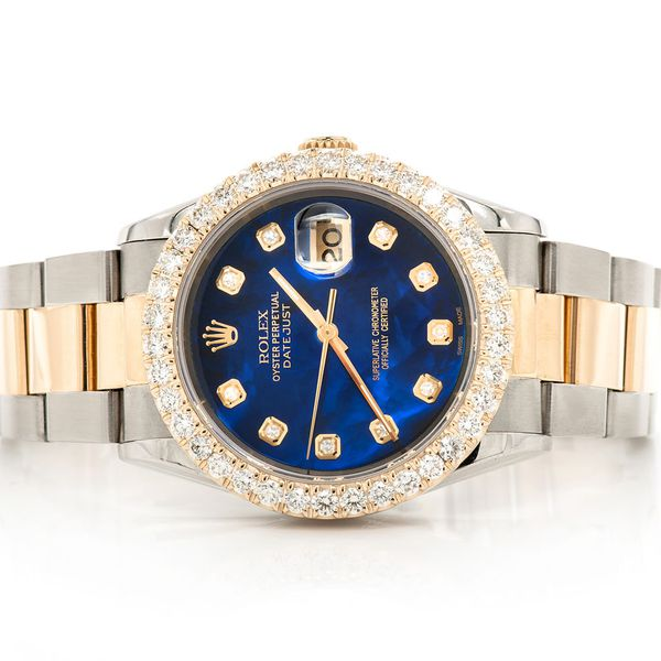 Pre-owned  Datejust 36MM  18K/SS  2.50ctw