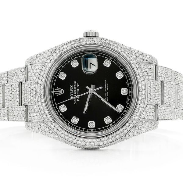 Rolex Datejust 15.48ctw Steel