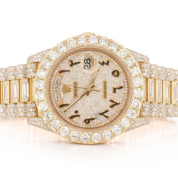 Rolex Day-Date 27.03ctw 18K