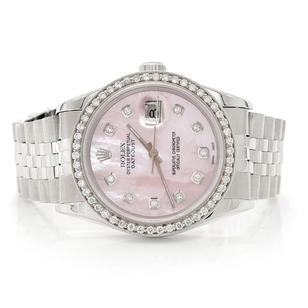Rolex Datejust 1.09ctw SS