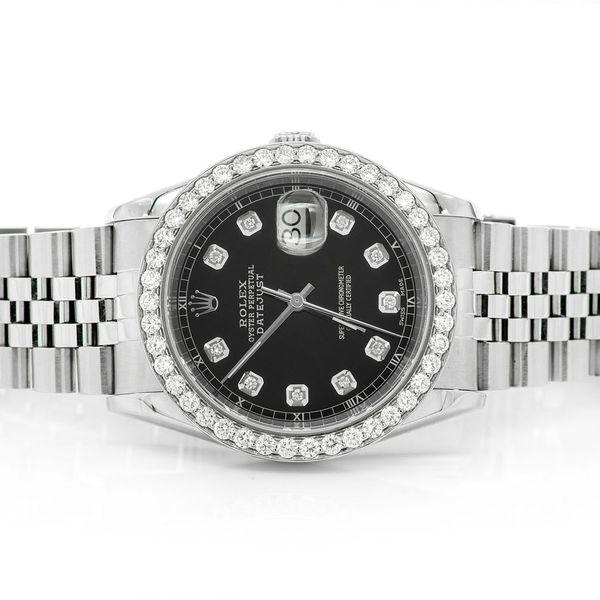 Rolex Datejust 2.10ctw SS