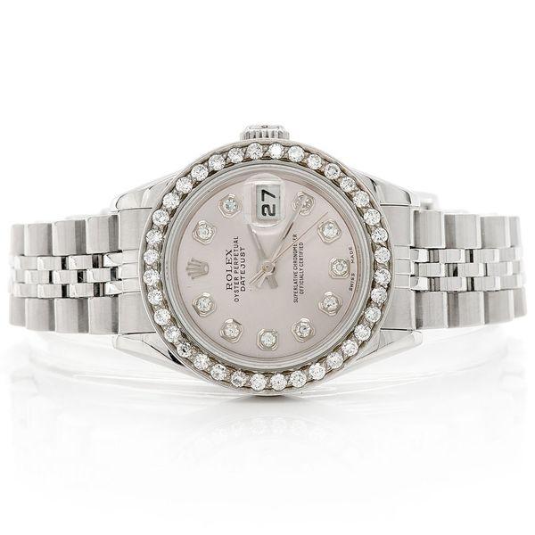 Rolex Datejust 0.79ctw SS