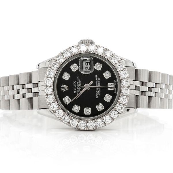 Rolex Datejust 2.01ctw SS