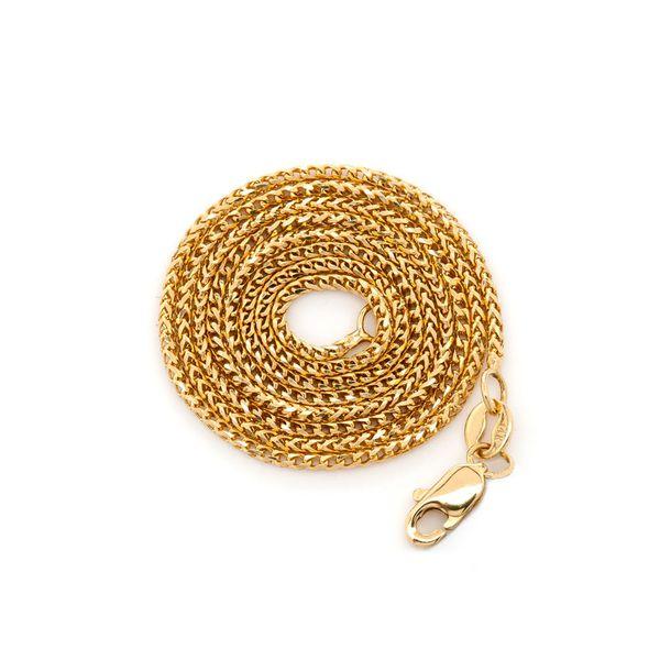 1mm Franco 14K   Bracelet