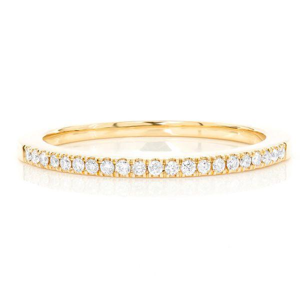 Single Row Diamond Ring 14K   0.12ctw