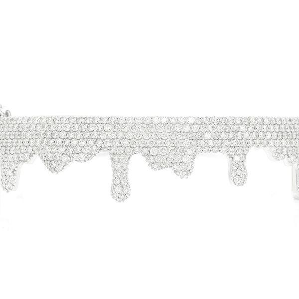 Bubbly Drip Bangle Medium Bracelet 14k   5.45ctw
