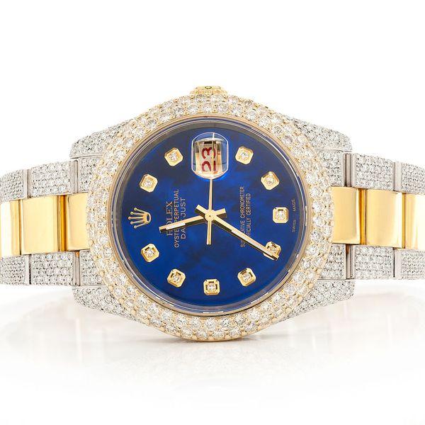 Rolex Datejust 14.19ctw 18K/SS