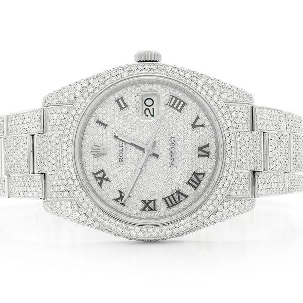 Rolex Datejust 15.99ctw Steel