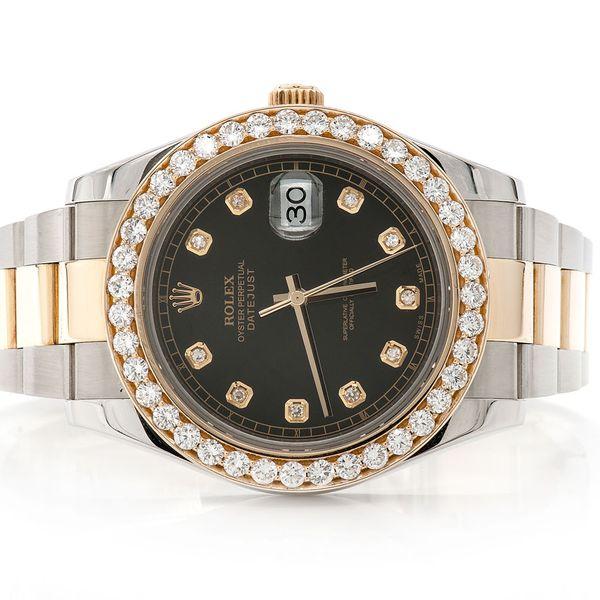 Rolex Datejust 2 3.20ctw 18K/SS