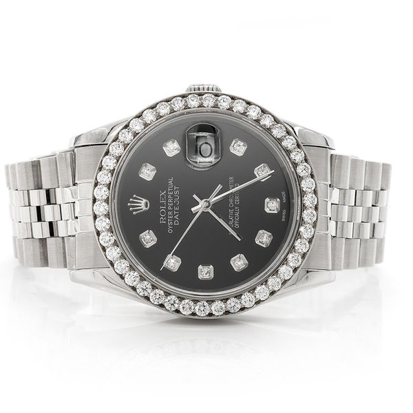 Rolex Datejust 2.30ctw St.Steel