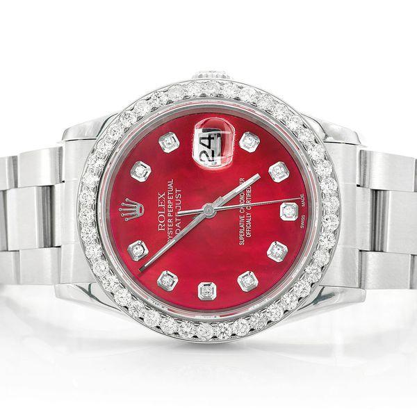 Rolex Datejust 2.20ctw SS
