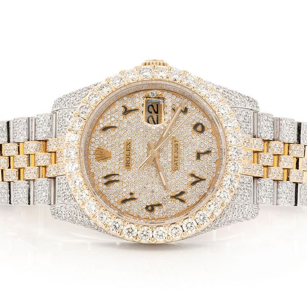 Pre-owned  Datejust 36MM  18K/SS  12.54ctw