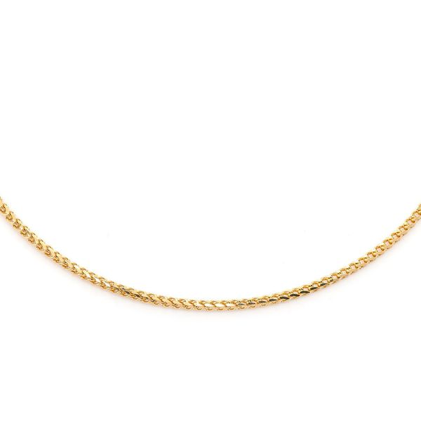 1mm Franco 14K   Chain
