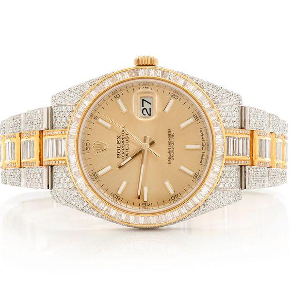 Rolex Datejust 18.90ctw 18K/SS