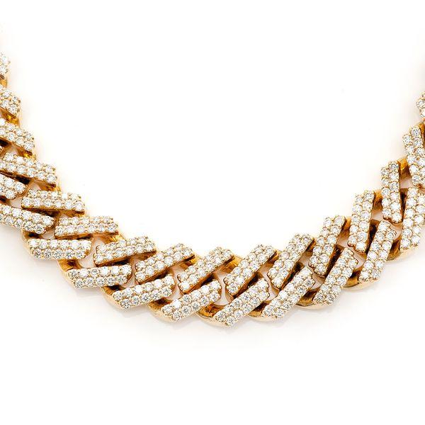 12mm Miami Cuban Necklace 14K   21.24ctw