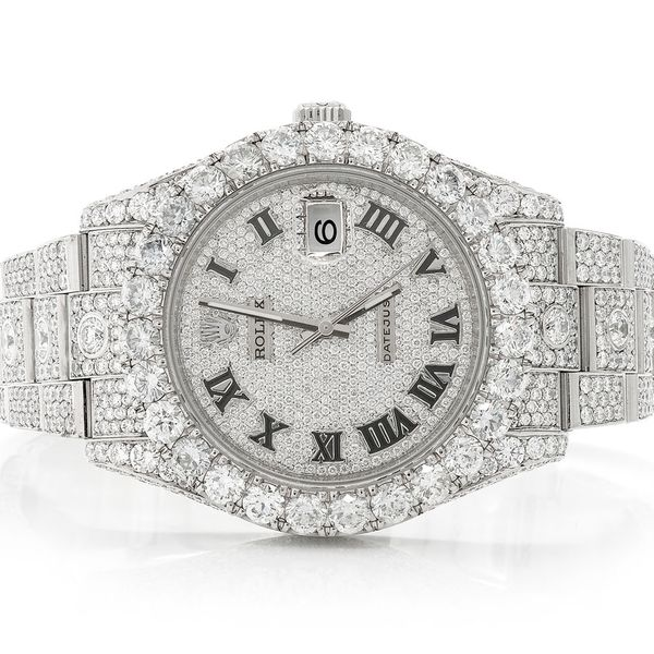 Rolex Datejust 2 29.34ctw SS