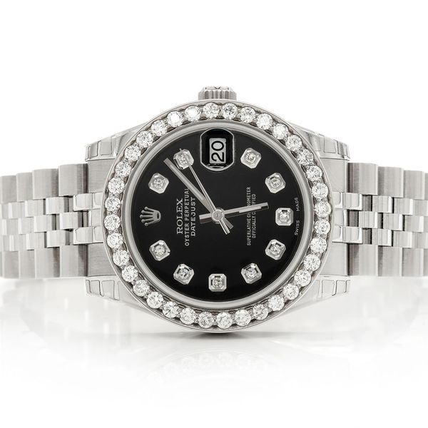 Pre-owned  Datejust 31mm  SS  1.69ctw