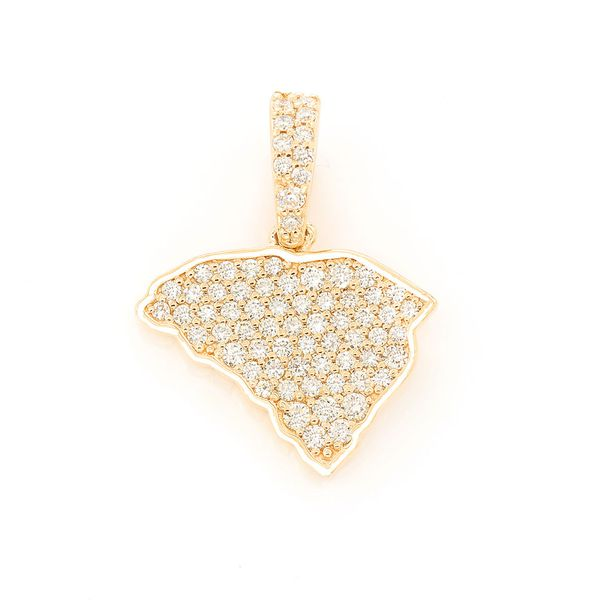 South Carolina  Pendant 14K   0.32ctw