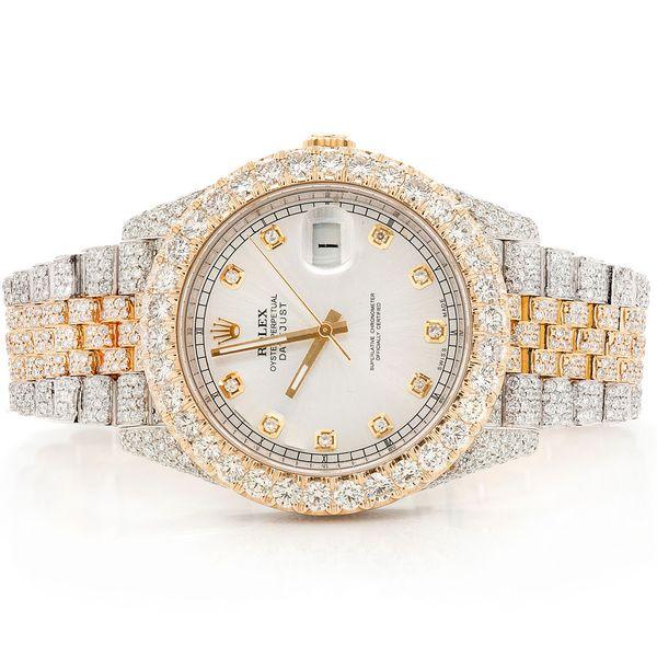 Rolex Datejust II 20.43ctw 18K/SS
