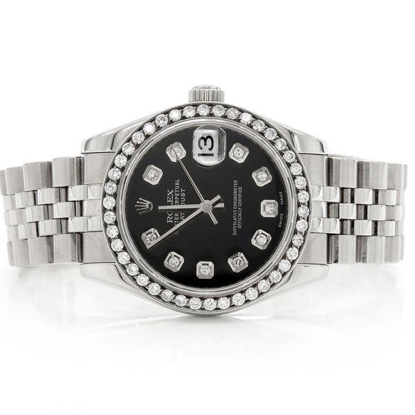 Rolex Datejust Midsize 1.00ctw SS