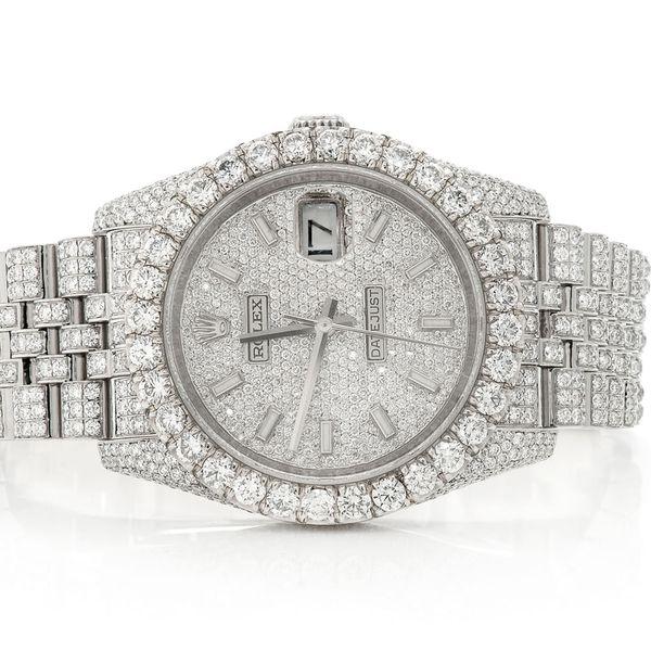Rolex Datejust 16.23ctw SS