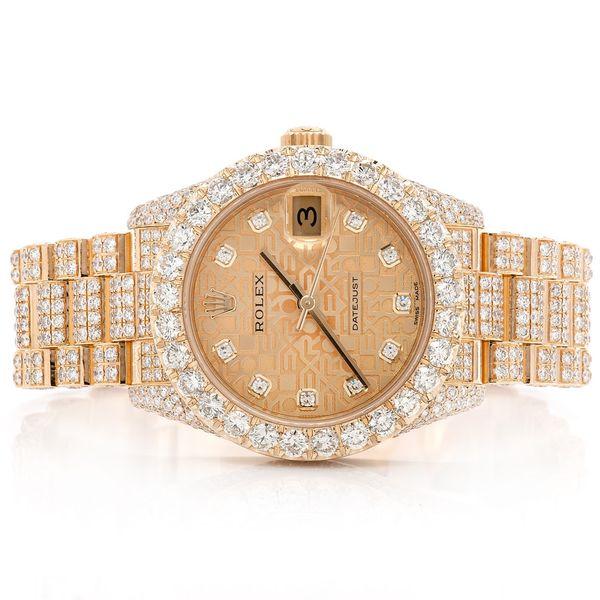 Rolex Datejust 13.06ctw 18K