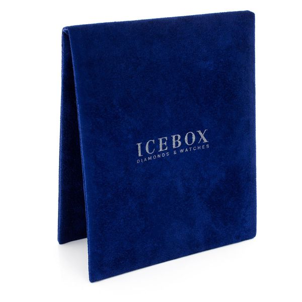 3  Icebox Blue Large Pouches