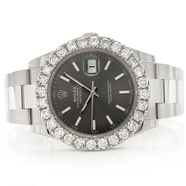 Rolex Datejust 7.22ctw SS