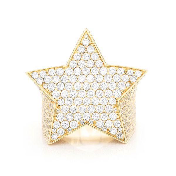 Super Star Ring 14K   8.43ctw