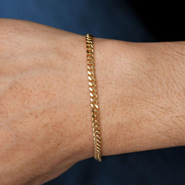 3.5mm Miami Cuban 14K   Bracelet