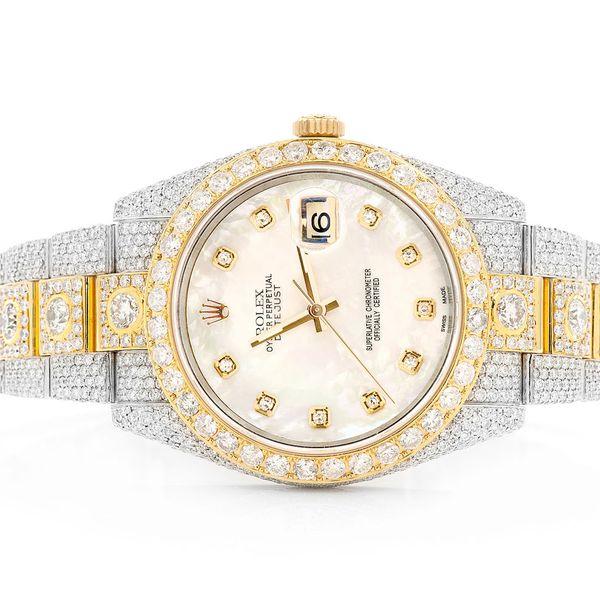 Rolex Datejust 24.66ctw 18K