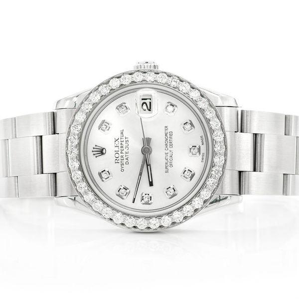 Rolex Datejust Midsize 1.53ctw SS