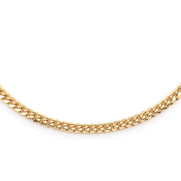 2.5mm Miami Cuban 14K   Chain
