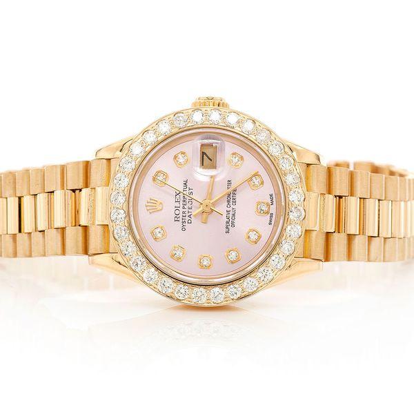 Rolex Datejust Plain 18K