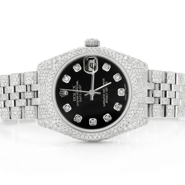 Rolex Datejust  7.84ctw SS