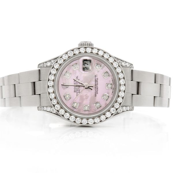 Pre-owned  Datejust 26mm  SS  1.38ctw